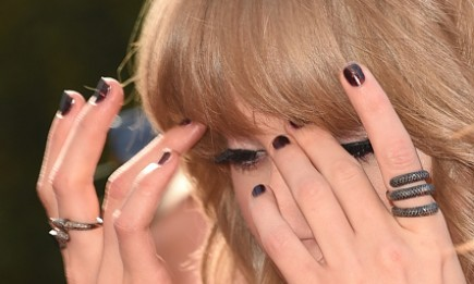 Singer Taylor Swift wearing her snake rings attended the 2015 iHeartRadio Music Awards which broadcasted live on NBC from The Shrine Auditorium on March 29, 2015 in Los Angeles, California.