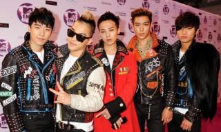 BIGBANG in attendance during the MTV Europe Music Awards in Ireland.