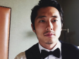 "South Korean-American Steven Yeun plays Glenn Rhee in the AMC series ""The Walking Dead."""