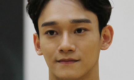 EXO's Chen during the showcase of the musical 'In The Heights' at Namsan Arts Center.