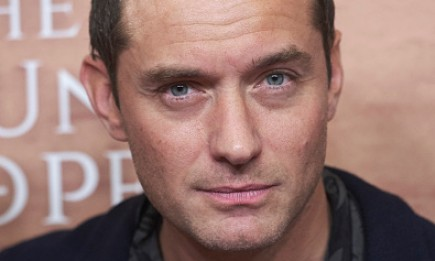 """Actor Jude Law attended """"The Young Pope"""" premiere at the Palafox cinema on Oct. 11 in Madrid, Spain."""
