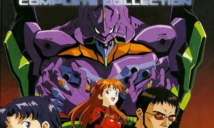 """""""Neon Genesis Evangelion"""" is a Japanese media franchise created and owned by Gainax, but was directed and written by Hideaki Anno."""