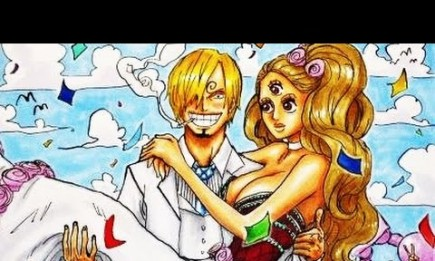 """The pending wedding between Sanji and Pudding has been a central theme of the current story arc of """"One Piece""""."""