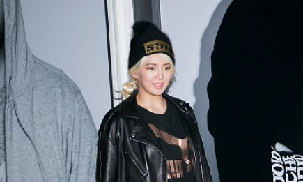 Girls' Generation's  Hyoyeon during the photocall for PUMA 'BOG SOCK' launch.