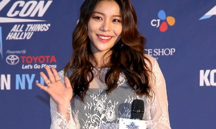 Singer Ailee during the KCON 2016 at Prudential Center.