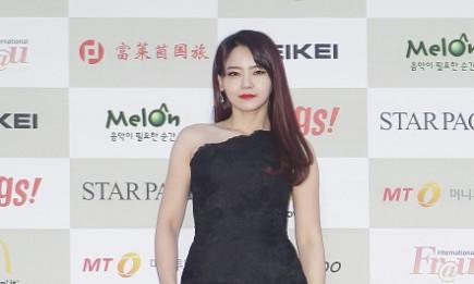 Seo Yuri arrives at the 4th Gaon Chart K-Pop Awards.