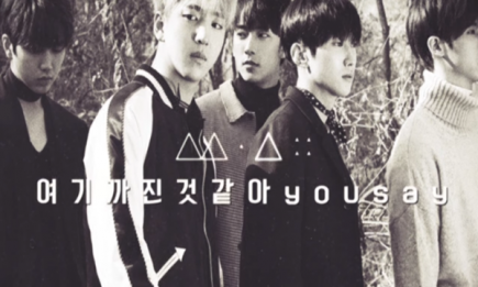 B1A4 returns with a new album and shares what makes them happy.