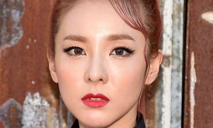 Dara attends the Givenchy fashion show during Spring 2016 New York Fashion Week.