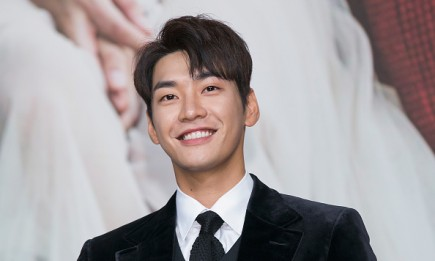 South Korean actor Kim Young Kwang during the press conference for KBS Drama 'Sweet Stranger and Me'.