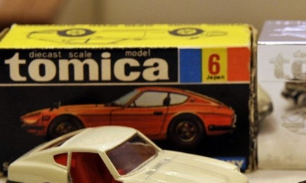 Tomica first edition die-cast 'Nissan Fairlady Z432' toy car