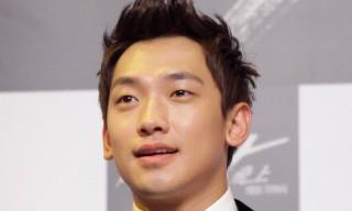 Singer-actor Rain arrives on the second day of Busan International Film Festival.
