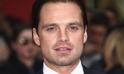 "Sebastian Stan arrived for UK film premiere ""Captain America: Civil War"" at Vue Westfield on April 26, 2016 in London, England."