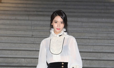 Girls' Generation member YoonA in attendance during the Chanel 2015/16 Cruise Collection show.