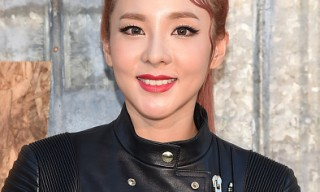 Dara attends the Givenchy fashion show during Spring 2016 New York Fashion Week at Pier 26 at Hudson River Park