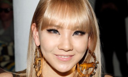 2ne1's CL attends the Jeremy Scott fall 2013 fashion show in New York.