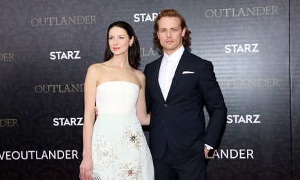Sam Heughan, Caitriona Balfe, Outlander Season 3