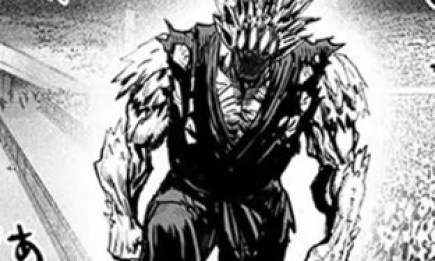 Monster Gouketsu enters the ring in 'One Punch Man' chapter 72