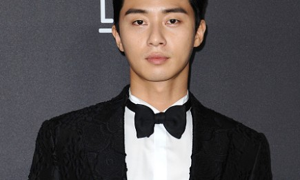 Actor Park Seo Joon during the 2016 LACMA Art + Film gala at LACMA.