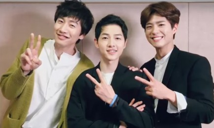 Song Joong Ki chooses between Park Bo Gum and Lee Kwang Soo.