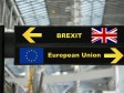 The image features the depiction of Brexit.