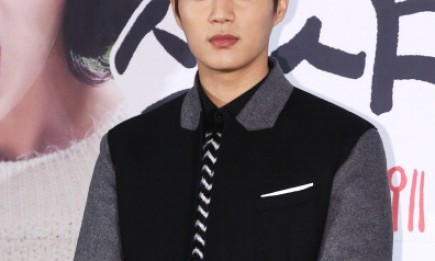 Doojoon Yoon during the 'Let's Eat' production announcement in Seoul.