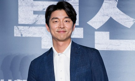 Gong Yoo during the press conference for 'Train To Busan'.