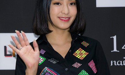 SISTAR's Bora during the photocall for 'LIBERTINE' launch at the Hyundai Department Store.