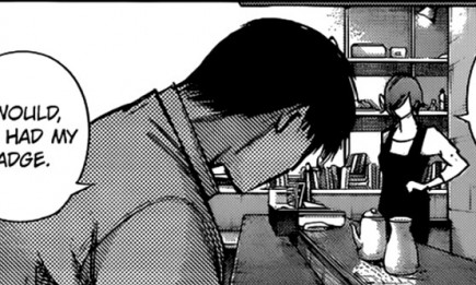 Touka and Amon meet in 'Tokyo Ghoul:re' chapter 117