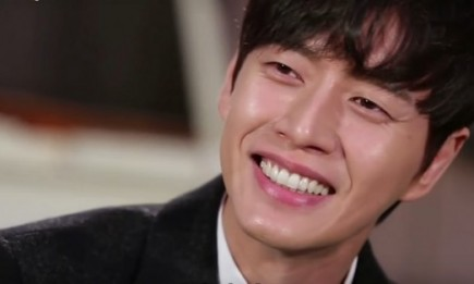 """Cheese in the Trap"" actor Park Hae Jin during his appearance on Entertainment Weekly's ""GuerillaDate."""