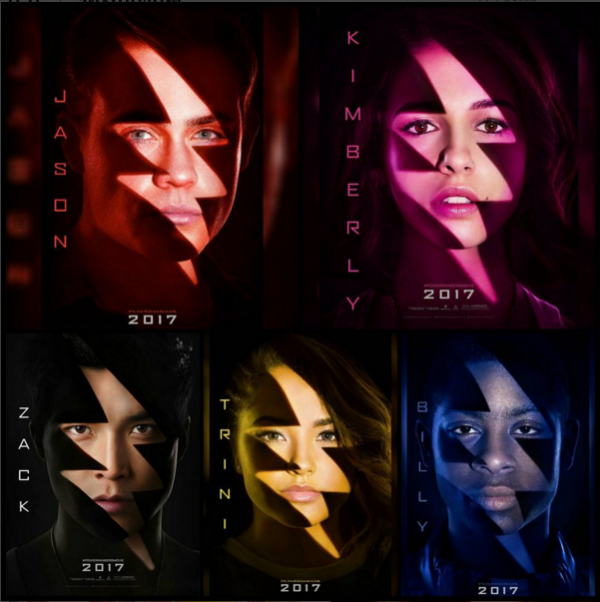 POWER RANGERS Character Posters Are Here