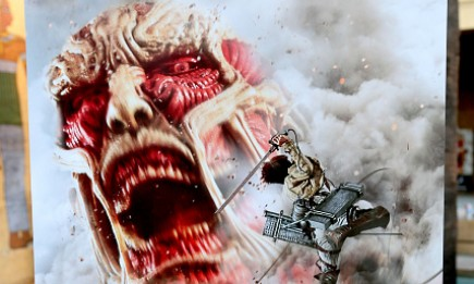 A general view of atmosphere at the 'ATTACK ON TITAN' World Premiere on July 14, 2015 in Hollywood, California.
